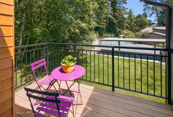 Balcony at 10809 NE 147th Ln #M202, Bothell